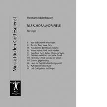 Rodenhausen, Hermann: 12 Choralvorspiele