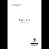 Zimanowski, Cornelia: Andante für Saxophonquartett