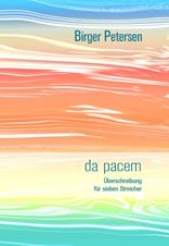 Petersen, Birger: da pacem. Überschreibung