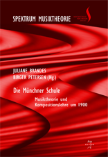 Brandes, Juliane / Petersen, Birger (Hrsg): Die Münchner Schule