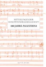 Schmidt, Birgit / Tybout, Rollf (Hrsg): Mitteilungen der Hans Pfitzner-Gesellschaft Heft 77/78