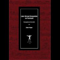 Wagner, Günter: Lieder Mainzer Komponisten zur Goethezeit