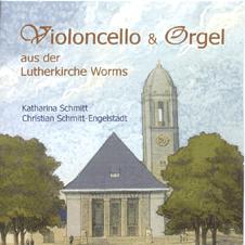 Violoncello und Orgel aus der Lutherkirche Worms