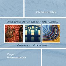 Drei Messen für Schola und Orgel