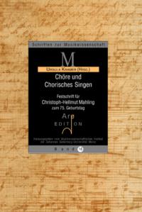 Kramer, Ursula (Hrsg): Chöre und Chorisches Singen