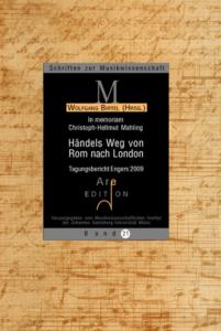 Birtel, Wolfgang (Hrsg): Händels Weg von Rom nach London