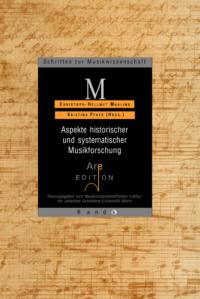 Mahling, Chr.-Hellmut / Pfarr, Kristina (Hrsg): Aspekte historischer und systematischer Musikforschung.