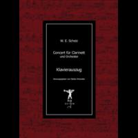Scholz, Wilhelm Eduard: Klarinettenkonzert, Klavierauszug