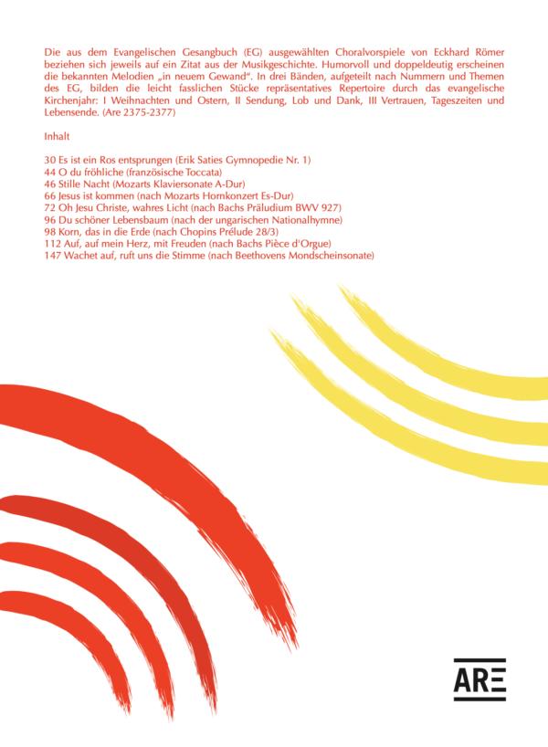 Römer, Eckhard: In neuem Gewand I Ausgewählte Choralvorspiele nach dem EG mit Zitaten aus der Musikgeschichte I Weihnachten und Ostern